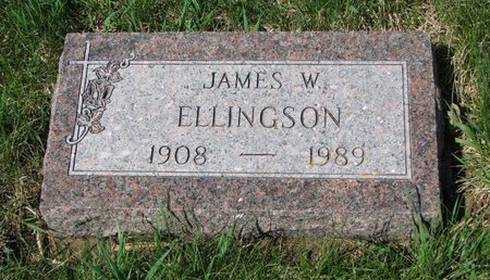 ELLINGSON, JAMES W. - Knox County, Nebraska   JAMES W. ELLINGSON - Nebraska Gravestone Photos