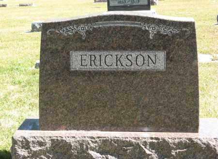 ERICKSON, (FAMILY MONUMENT) - Knox County, Nebraska   (FAMILY MONUMENT) ERICKSON - Nebraska Gravestone Photos