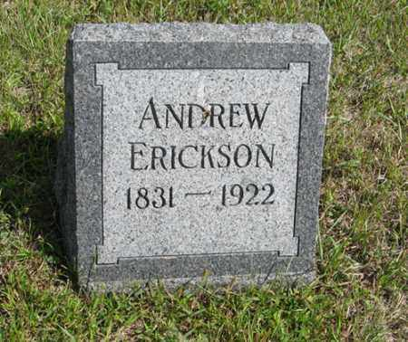 ERICKSON, ANDREW - Knox County, Nebraska | ANDREW ERICKSON - Nebraska Gravestone Photos