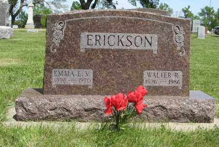 ERICKSON, EMMA E. V. - Knox County, Nebraska | EMMA E. V. ERICKSON - Nebraska Gravestone Photos