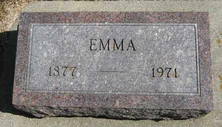 ERICKSON, EMMA - Knox County, Nebraska | EMMA ERICKSON - Nebraska Gravestone Photos