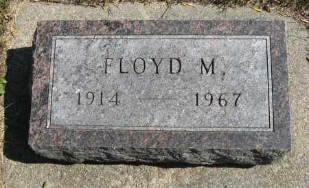 ERICKSON, FLOYD M. - Knox County, Nebraska | FLOYD M. ERICKSON - Nebraska Gravestone Photos