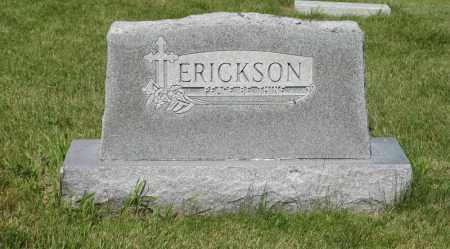 ERICKSON, FAMILY - Knox County, Nebraska   FAMILY ERICKSON - Nebraska Gravestone Photos
