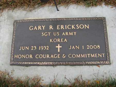 ERICKSON, GARY R. (MILITARY MARKER) - Knox County, Nebraska | GARY R. (MILITARY MARKER) ERICKSON - Nebraska Gravestone Photos