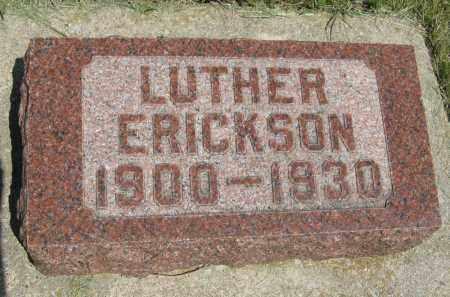 ERICKSON, LUTHER - Knox County, Nebraska   LUTHER ERICKSON - Nebraska Gravestone Photos