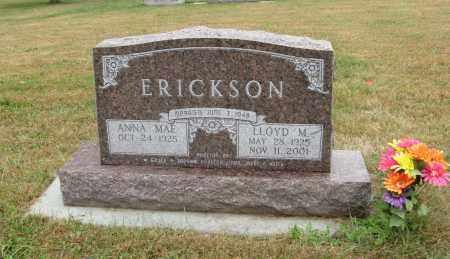 ERICKSON, LLOYD M. - Knox County, Nebraska | LLOYD M. ERICKSON - Nebraska Gravestone Photos