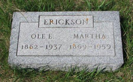 ERICKSON, OLE E. - Knox County, Nebraska   OLE E. ERICKSON - Nebraska Gravestone Photos