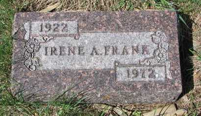 HASKIN FRANK, IRENE ANNA - Knox County, Nebraska | IRENE ANNA HASKIN FRANK - Nebraska Gravestone Photos