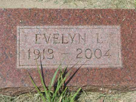 FOSTERMAN, EVELYN L. - Knox County, Nebraska | EVELYN L. FOSTERMAN - Nebraska Gravestone Photos
