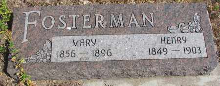 FOSTERMAN, MARY - Knox County, Nebraska | MARY FOSTERMAN - Nebraska Gravestone Photos