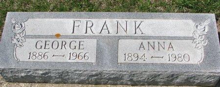 FRANK, GEORGE - Knox County, Nebraska | GEORGE FRANK - Nebraska Gravestone Photos