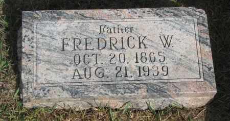 FREVERT, FREDRICK W. - Knox County, Nebraska | FREDRICK W. FREVERT - Nebraska Gravestone Photos