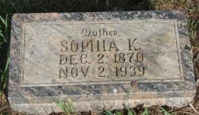 FREVERT, SOPHIA K. - Knox County, Nebraska | SOPHIA K. FREVERT - Nebraska Gravestone Photos