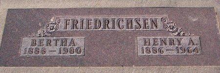 FRIEDRICHSEN, HENRY A. - Knox County, Nebraska | HENRY A. FRIEDRICHSEN - Nebraska Gravestone Photos