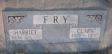 FRY, HARRIET - Knox County, Nebraska   HARRIET FRY - Nebraska Gravestone Photos