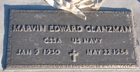 GLANZMAN, MARVIN EDWARD - Knox County, Nebraska | MARVIN EDWARD GLANZMAN - Nebraska Gravestone Photos