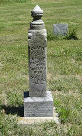 GODDARD, CLARA - Knox County, Nebraska | CLARA GODDARD - Nebraska Gravestone Photos