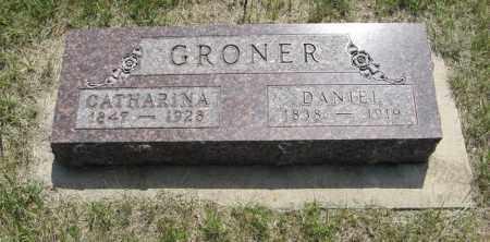 GRONER, DANIEL - Knox County, Nebraska | DANIEL GRONER - Nebraska Gravestone Photos