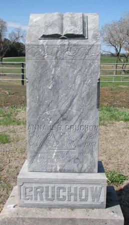 GRUCHOW, ANNA L.D. - Knox County, Nebraska | ANNA L.D. GRUCHOW - Nebraska Gravestone Photos