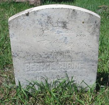 GURINE, BERTHA - Knox County, Nebraska | BERTHA GURINE - Nebraska Gravestone Photos
