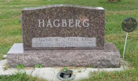 HAGBERG, SIGRID M. - Knox County, Nebraska | SIGRID M. HAGBERG - Nebraska Gravestone Photos