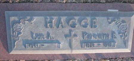 HAGGE, KENNETH E. - Knox County, Nebraska | KENNETH E. HAGGE - Nebraska Gravestone Photos