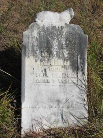 HAINS, MARY - Knox County, Nebraska   MARY HAINS - Nebraska Gravestone Photos
