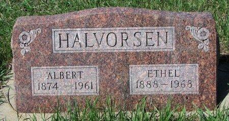 "HALVORSEN, ETHELYN BEATRICE ""ETHEL"" - Knox County, Nebraska | ETHELYN BEATRICE ""ETHEL"" HALVORSEN - Nebraska Gravestone Photos"