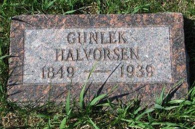 HALVORSEN, GUNLEK - Knox County, Nebraska | GUNLEK HALVORSEN - Nebraska Gravestone Photos