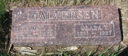 HALVORSEN, CLARA THERESA - Knox County, Nebraska | CLARA THERESA HALVORSEN - Nebraska Gravestone Photos