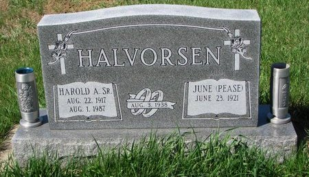HALVORSEN, JUNE - Knox County, Nebraska | JUNE HALVORSEN - Nebraska Gravestone Photos