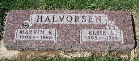 HALVORSEN, MARVIN R. - Knox County, Nebraska | MARVIN R. HALVORSEN - Nebraska Gravestone Photos