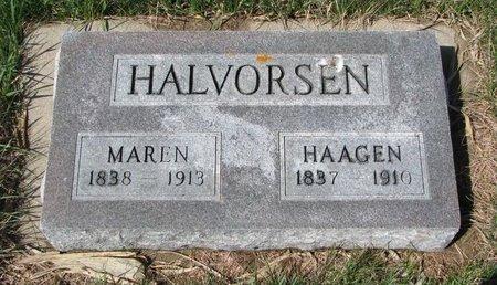 HALVORSEN, MAREN - Knox County, Nebraska   MAREN HALVORSEN - Nebraska Gravestone Photos