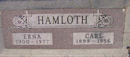 HAMLOTH, ERNA - Knox County, Nebraska   ERNA HAMLOTH - Nebraska Gravestone Photos