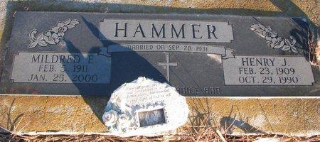 HAMMER, MILDRED E. - Knox County, Nebraska | MILDRED E. HAMMER - Nebraska Gravestone Photos