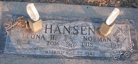 POPPE HANSEN, LEONA H. - Knox County, Nebraska | LEONA H. POPPE HANSEN - Nebraska Gravestone Photos