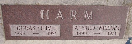 HARM, DORAS OLIVE - Knox County, Nebraska | DORAS OLIVE HARM - Nebraska Gravestone Photos