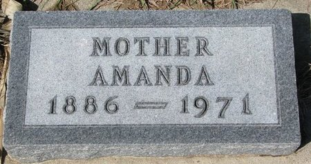 HARROM, AMANDA ALMA - Knox County, Nebraska | AMANDA ALMA HARROM - Nebraska Gravestone Photos