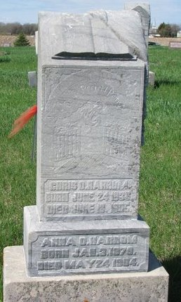 HARROM, CHRIS O. - Knox County, Nebraska | CHRIS O. HARROM - Nebraska Gravestone Photos