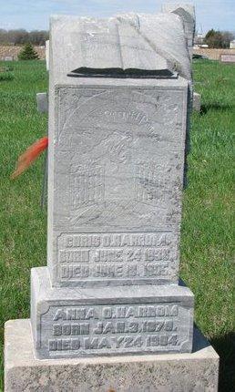 HARROM, ANNA O. - Knox County, Nebraska | ANNA O. HARROM - Nebraska Gravestone Photos