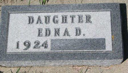 HARROM, EDNA D. - Knox County, Nebraska   EDNA D. HARROM - Nebraska Gravestone Photos