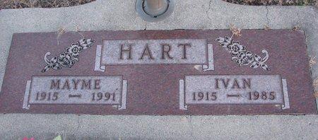 SONNICHSEN HART, MAYME - Knox County, Nebraska | MAYME SONNICHSEN HART - Nebraska Gravestone Photos