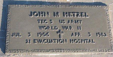 HETZEL, JOHN M. - Knox County, Nebraska | JOHN M. HETZEL - Nebraska Gravestone Photos