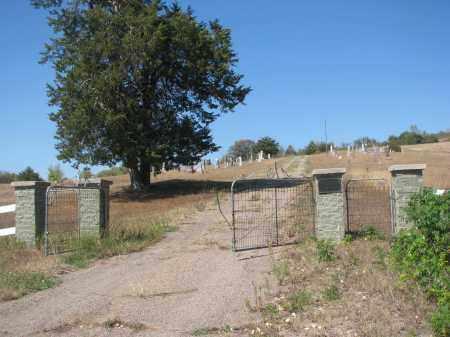 *HILLCREST, FROM GATE - Knox County, Nebraska | FROM GATE *HILLCREST - Nebraska Gravestone Photos