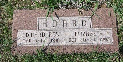 HOARD, ELIZABETH - Knox County, Nebraska | ELIZABETH HOARD - Nebraska Gravestone Photos