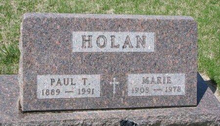 HOLAN, MARIE - Knox County, Nebraska | MARIE HOLAN - Nebraska Gravestone Photos