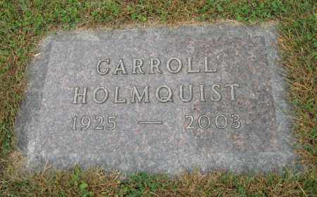 HOLMQUIST, CARROLL - Knox County, Nebraska | CARROLL HOLMQUIST - Nebraska Gravestone Photos