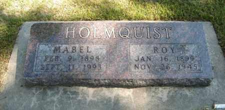HOLMQUIST, MABEL - Knox County, Nebraska | MABEL HOLMQUIST - Nebraska Gravestone Photos