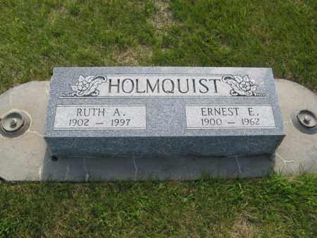 HOLMQUIST, RUTH A. - Knox County, Nebraska | RUTH A. HOLMQUIST - Nebraska Gravestone Photos