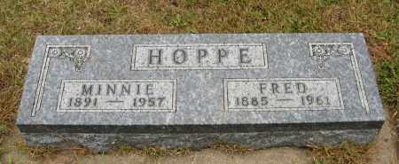 HOPPE, MINNIE - Knox County, Nebraska | MINNIE HOPPE - Nebraska Gravestone Photos
